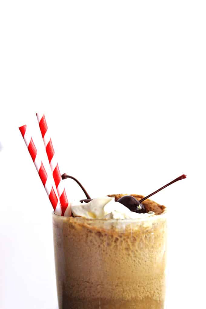 ROOT spiked root beer float