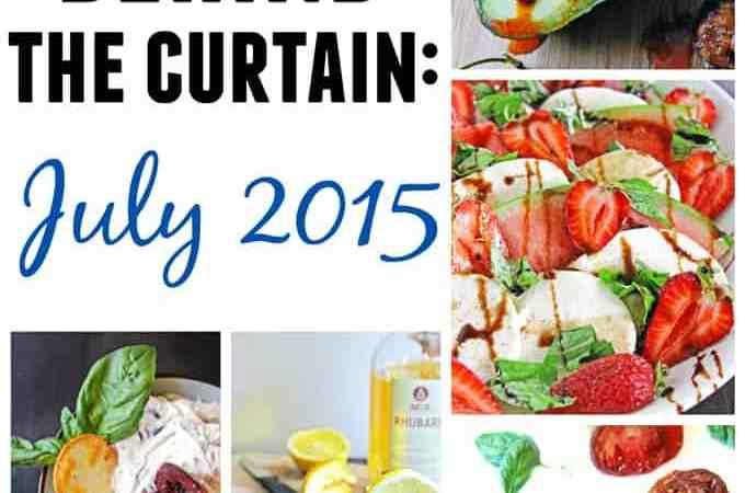 A peek behind the curtain: July 2015