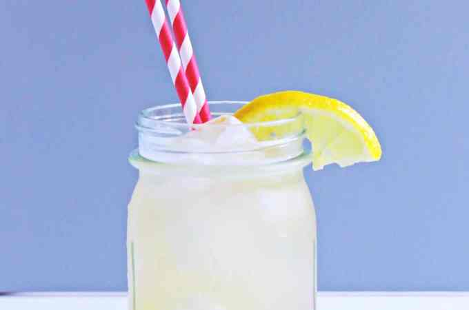 Sparkling honey roasted lemonade