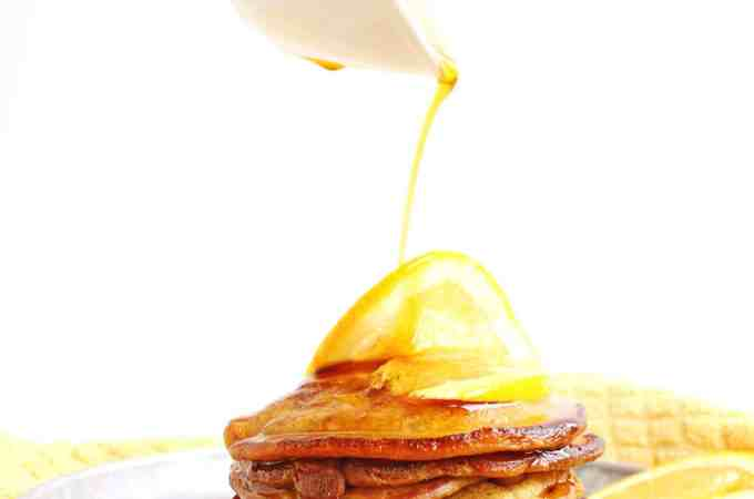 Cinnamon orange pancakes