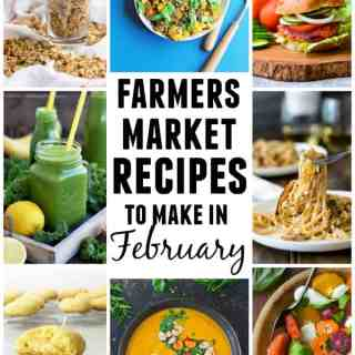 15 Farmers market recipes to make in February