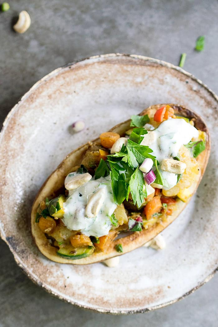 Instant pot vegan spring vegetable potato chaat + 15 Farmers market recipes to make in April! Delicious, vegetarian, (mostly) healthy spring recipes made with fresh, seasonal produce from your local farmers market or CSA bin. Eat local! // Rhubarbarians