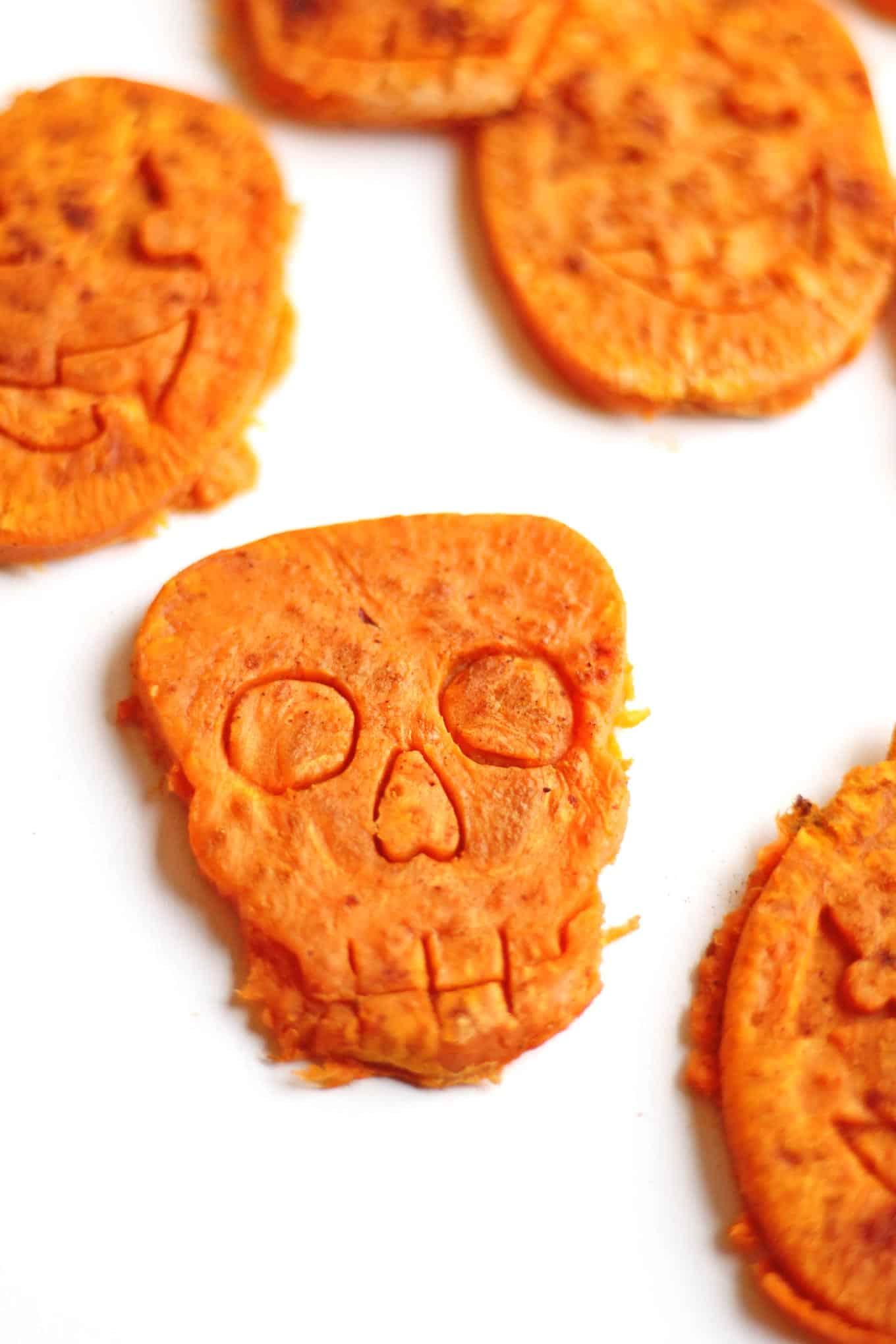 Halloween Sweet Potato Cookies