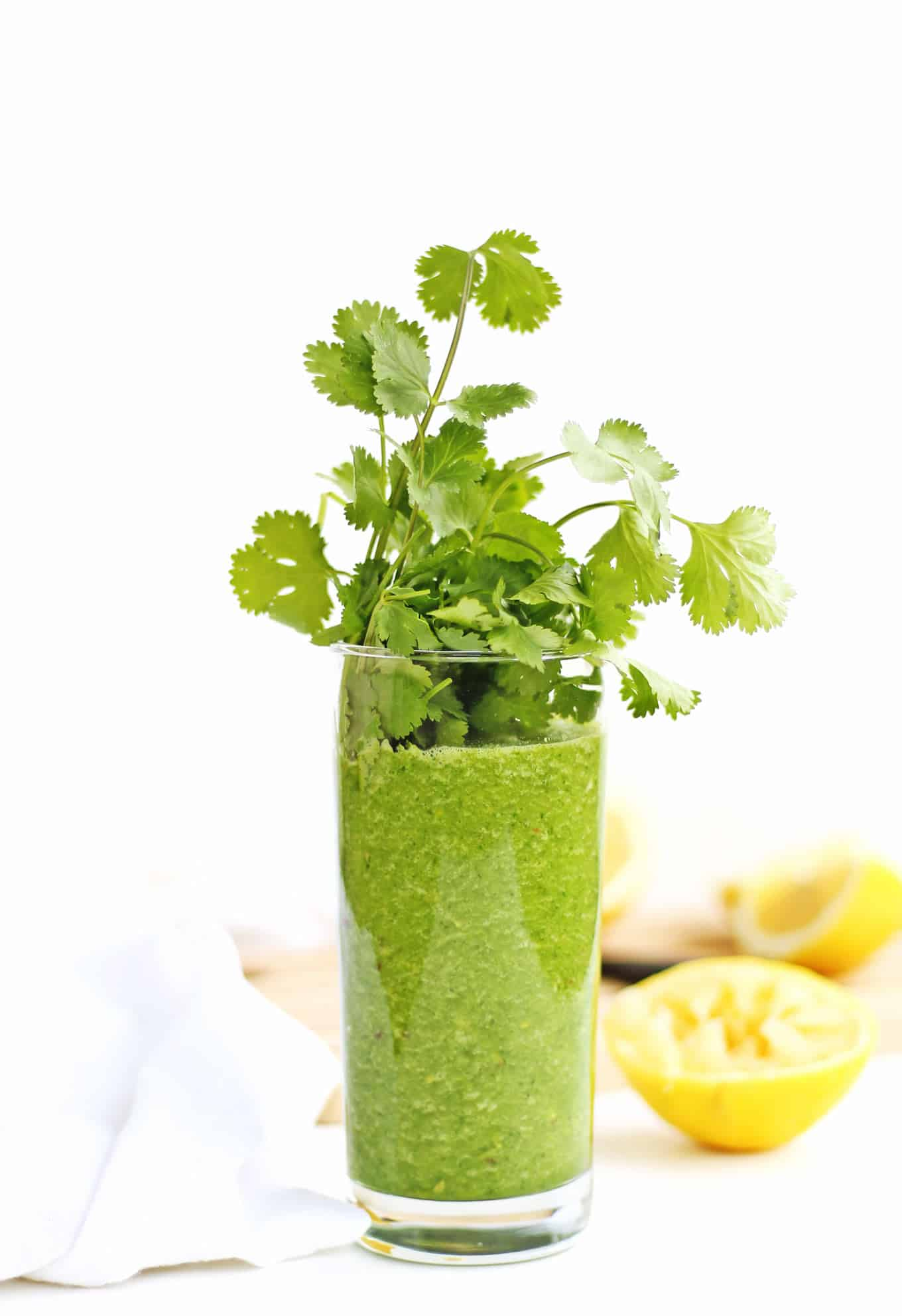 Glowing green smoothie recipe