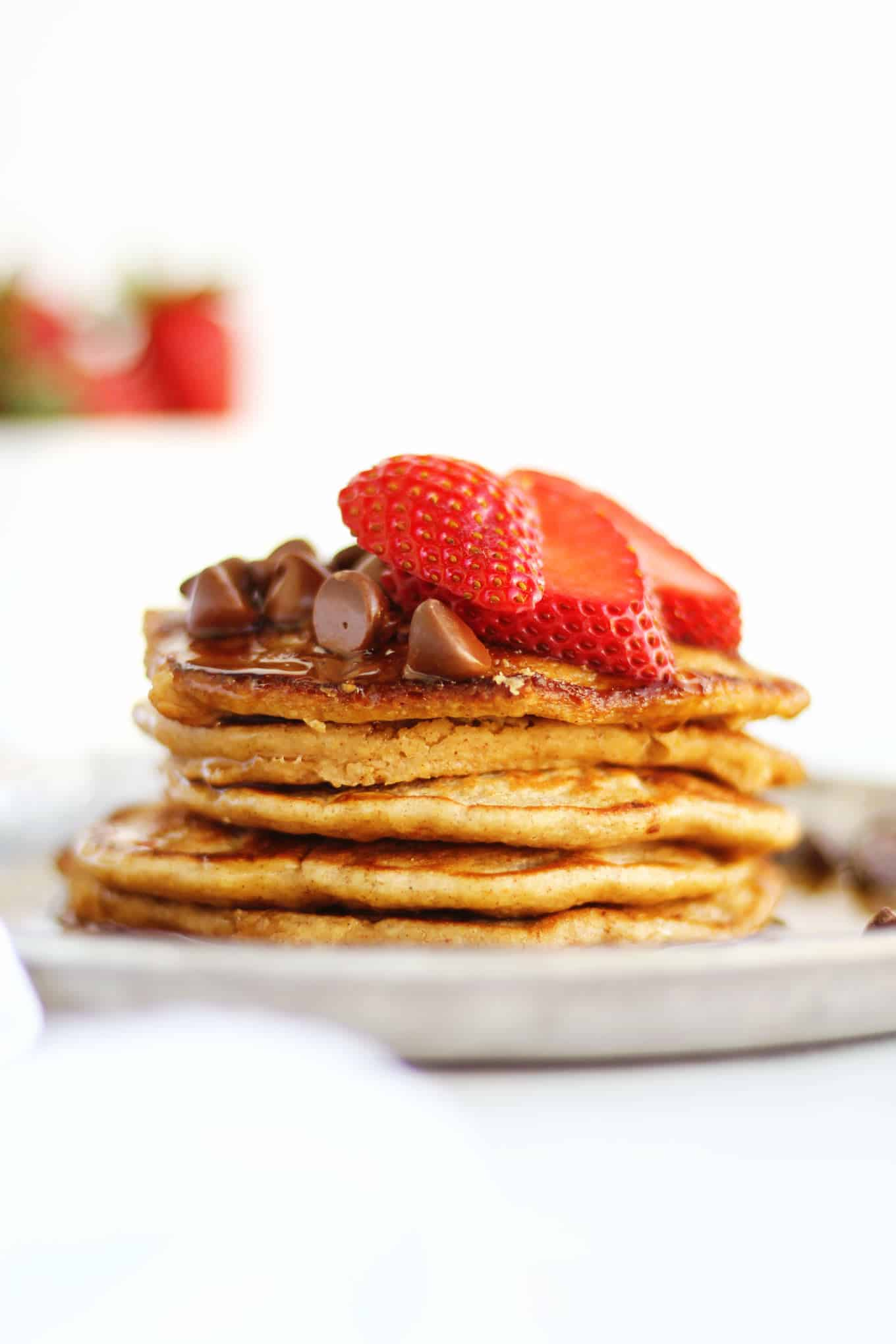 Oatmeal pancakes - a light dietary treat 97
