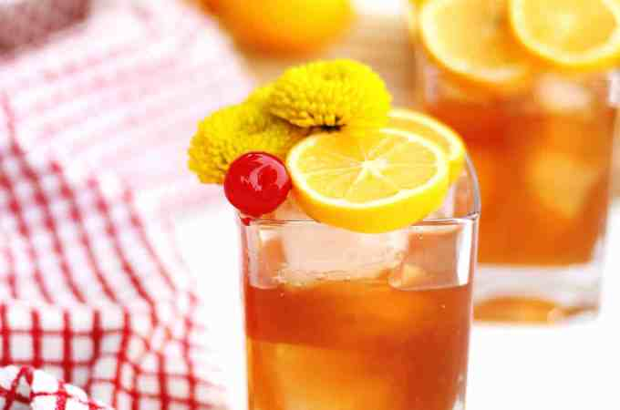 Meyer lemon old fashioned