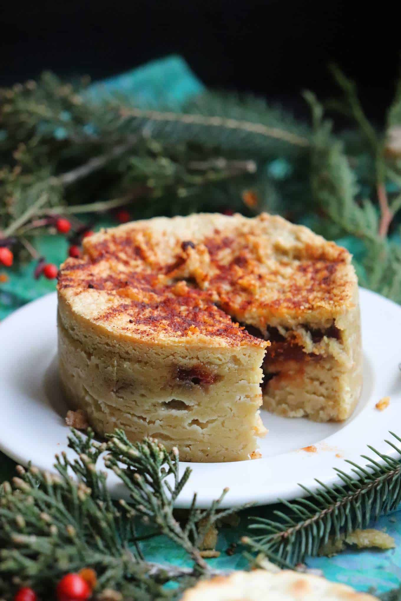 holiday vegan cheese