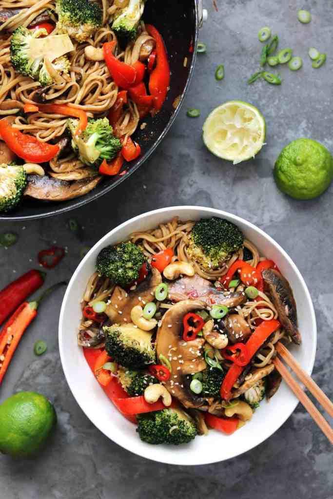 vegetarian stir fry + meatless monday recipes