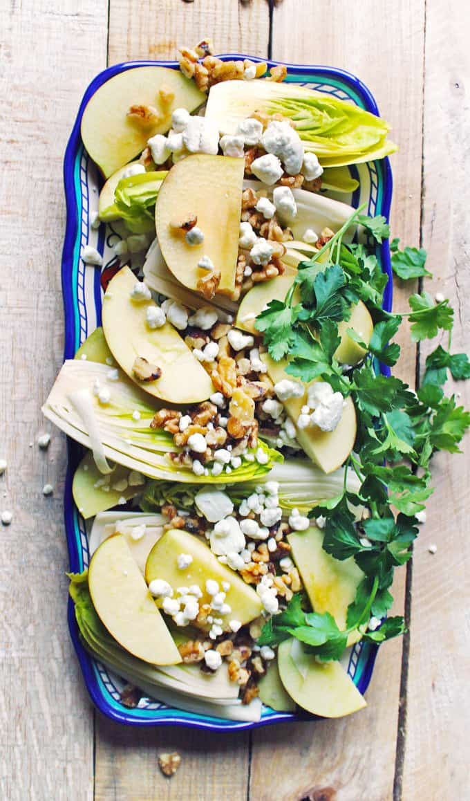 belgian endive salad with apples