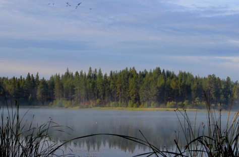 Sunrise at Fish Lake