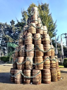 barrelchristmastree