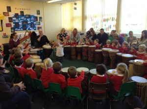 drumming in schools