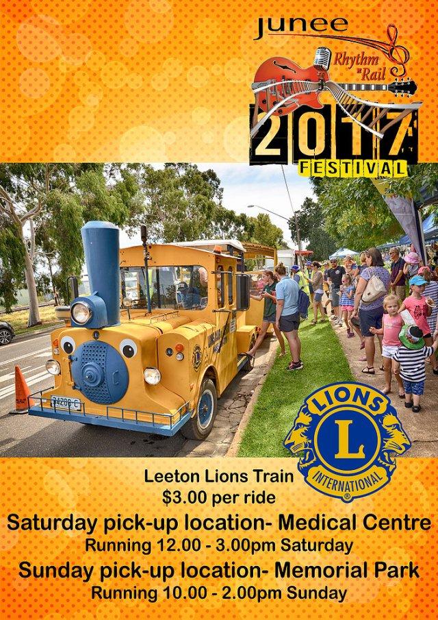 Leeton Lions Train