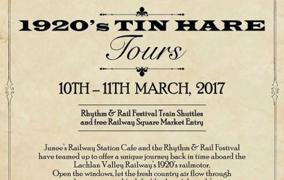 1920's Tin Hare Tours (2017)