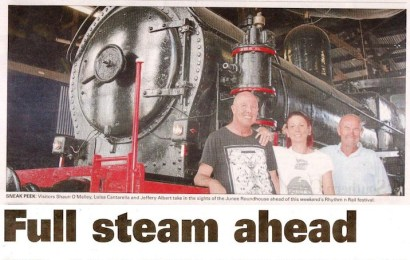 Full steam ahead for Rhythm n Rail festival