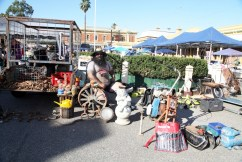 You just never know what you'll find at the Junee Rhythm n Rail Festival Markets