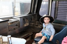 You're never too young to consider a career in train driving!