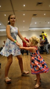 Dancing at the 2017 Bush Dance and Dinner