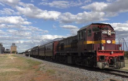Ride the Heritage Diesel Train by Lachlan Valley Railway (2018)
