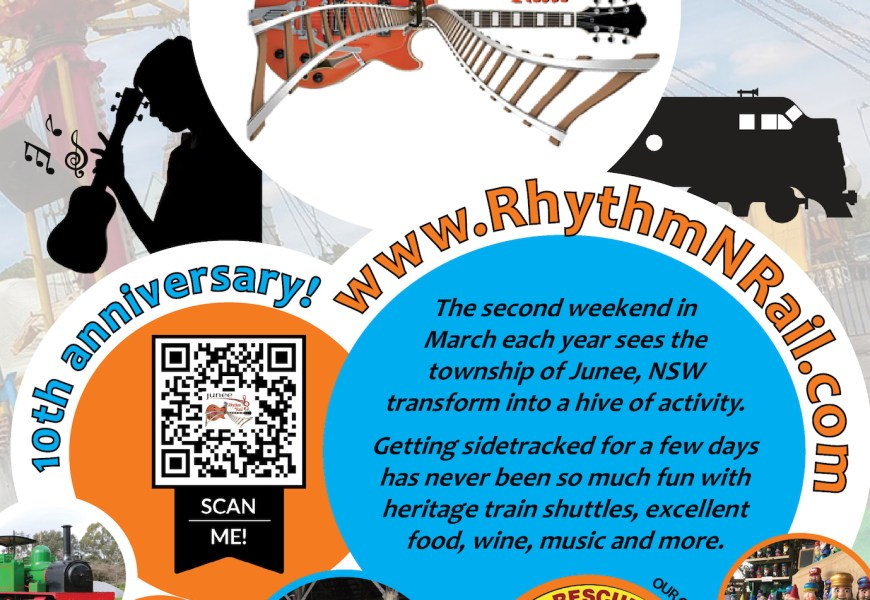 Junee Rhythm n Rail 2018 Events
