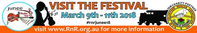 Visit 2018 Junee Rhythm n Rail Festival