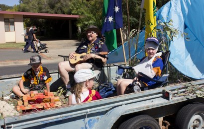 1st Junee Scout Group win People's Choice at Junee Street Parade