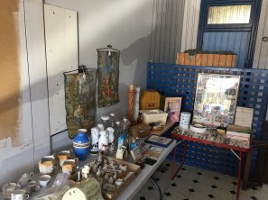 Items for sale at the Pop-up Shop, Belmore Manor Collectibles