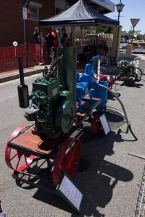 Display at the Rail Precinct by the Wagga Wagga Historical Engine Club