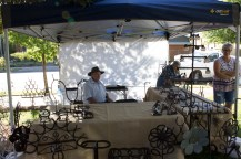 Hand crafted goods on sale at the Festival Market