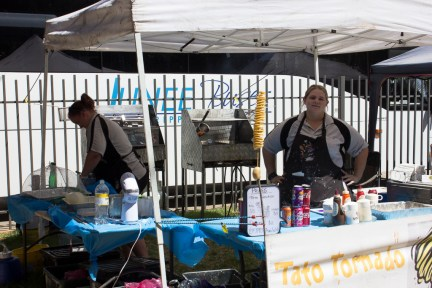 Tato Tornado -- One of the many food stalls at the Festival Markets