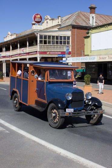 Junee Street Parade Entrants -- 1928 A Model Ford