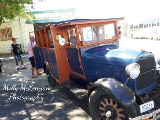 1928 A Model Ford on display in Peel Street