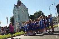 School Choir performing on Broadway [2015 Rhythm n Rail]