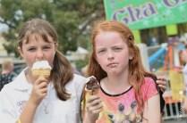 Enjoying an ice cream [2015 Rhythm n Rail]