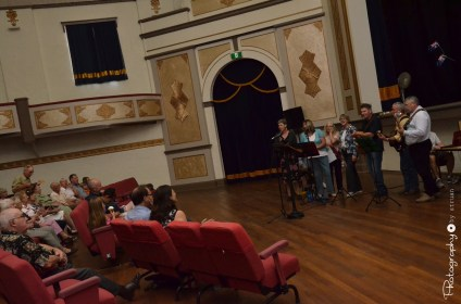 Live performance in the Athenium Theatre Junee [2015 Rhythm n Rail]