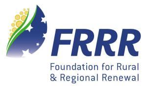 Foundation for Rural & Regional Renewal Logo