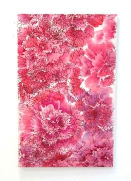 1expositie Klei installatie rozen 1 1expositie Klei kalligrafie3 rozenkalligrafie 3