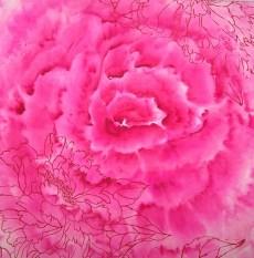 roos 50 bij 50 met zeefdruk 41