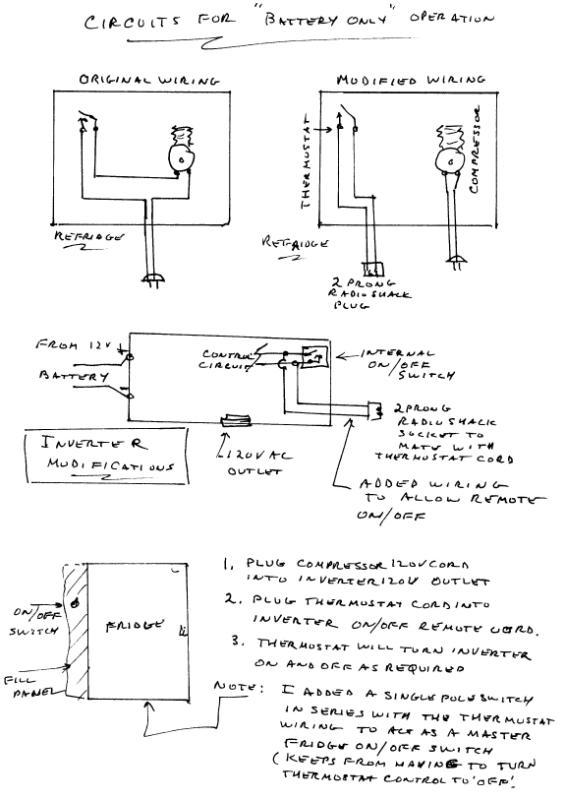 norcold fridge wiring diagram 49cc parts refrigerator conversion