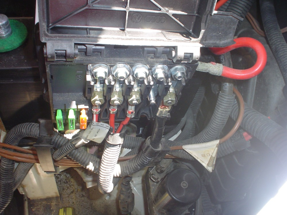 medium resolution of vw fuse box engine