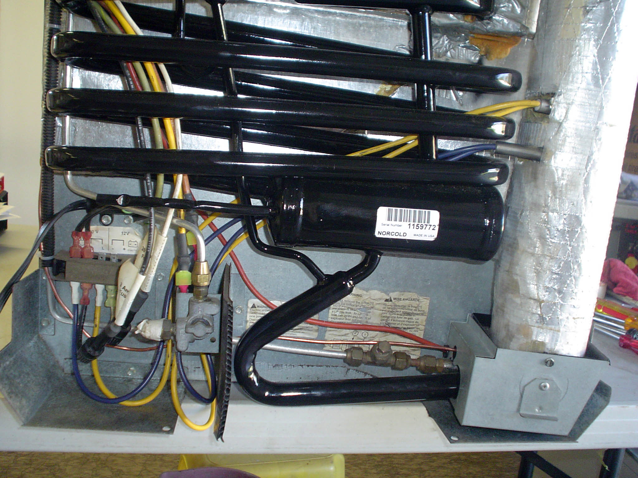 wiring diagram for a electrolux 3 way fridge 2007 dodge caravan radio refrigerator conside complete cleaning of the heating elements