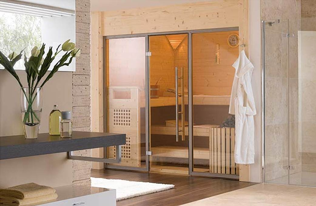 Einbausauna BS Finnland  my lovely bath  Magazin fr Bad  Spa