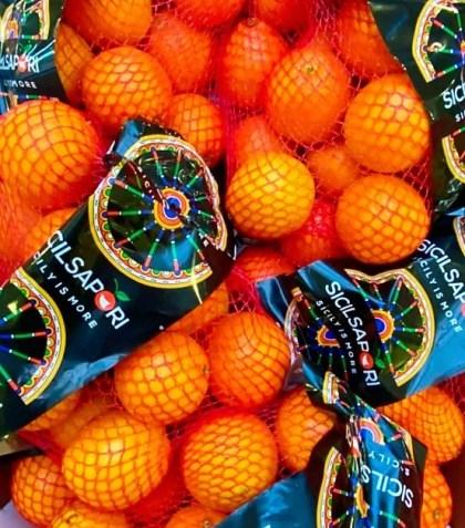 retina di arance da spremuta siciliane