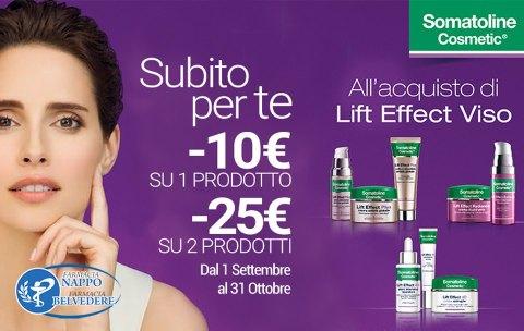 -10€ su 1 prodotto  -25€ su 2 prodotti  promozione valida fino al 31 Ottobre 2019