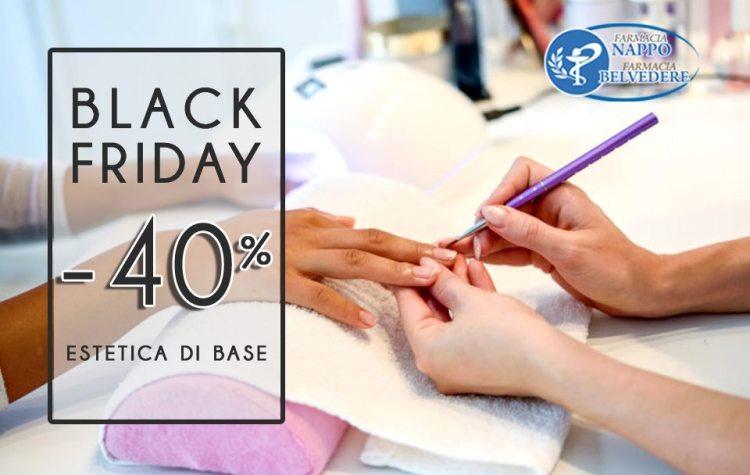 Farmacia Nappo , estetica di base -40%, da martedì' 26 a sabato 30 novembre