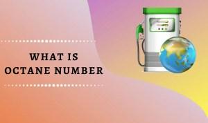 octane number