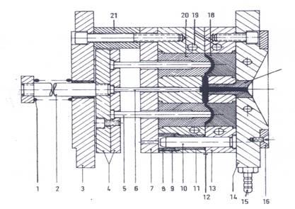 TOPRAN Piastra termoisolante, Impianto iniezione 401
