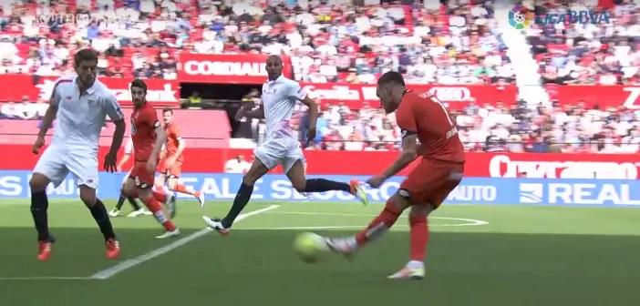 Oriol parte en posición legal en el momento del pase.