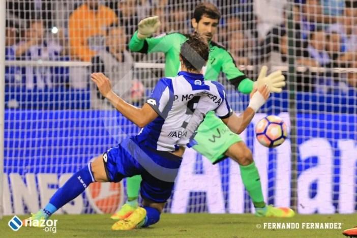 Pedro Mosquera fue el autor del empate del partido.