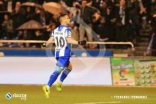 Florin Andone volvió a marcar y realizó un partido excelente